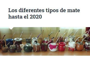 Tipos de mates urugayos en 2020